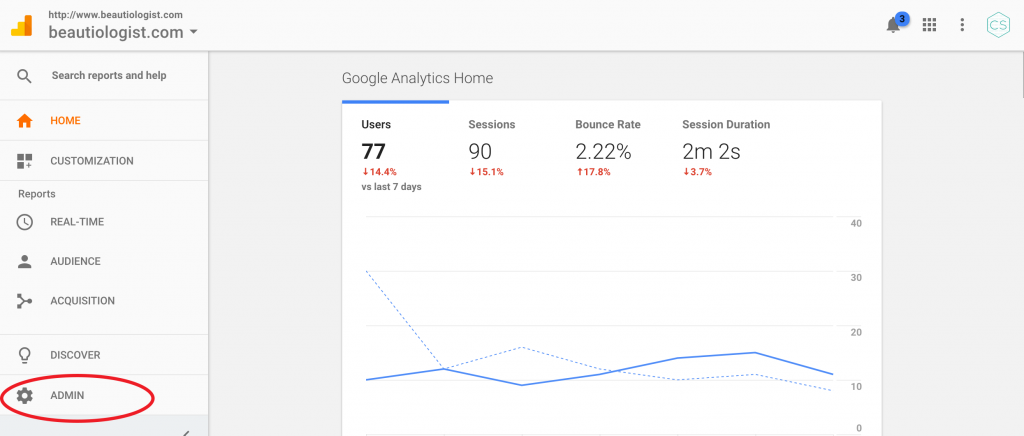 Setup Google Analytics WordPress