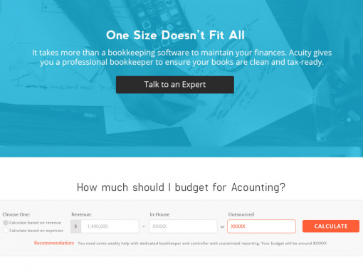 Acuity Calculator